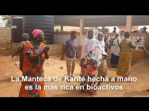 La Magia de Manteca Karite Artesana hecha a mano por mujeres