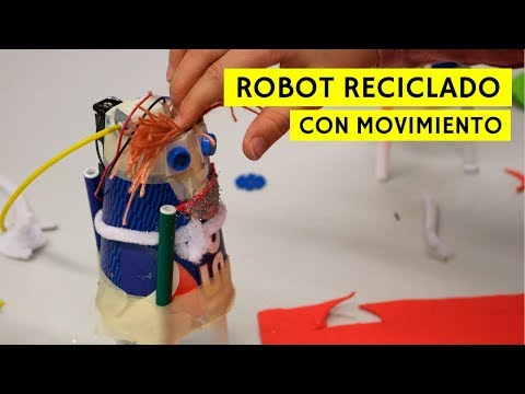 Crónica del taller DIY de fabricación robots reciclados