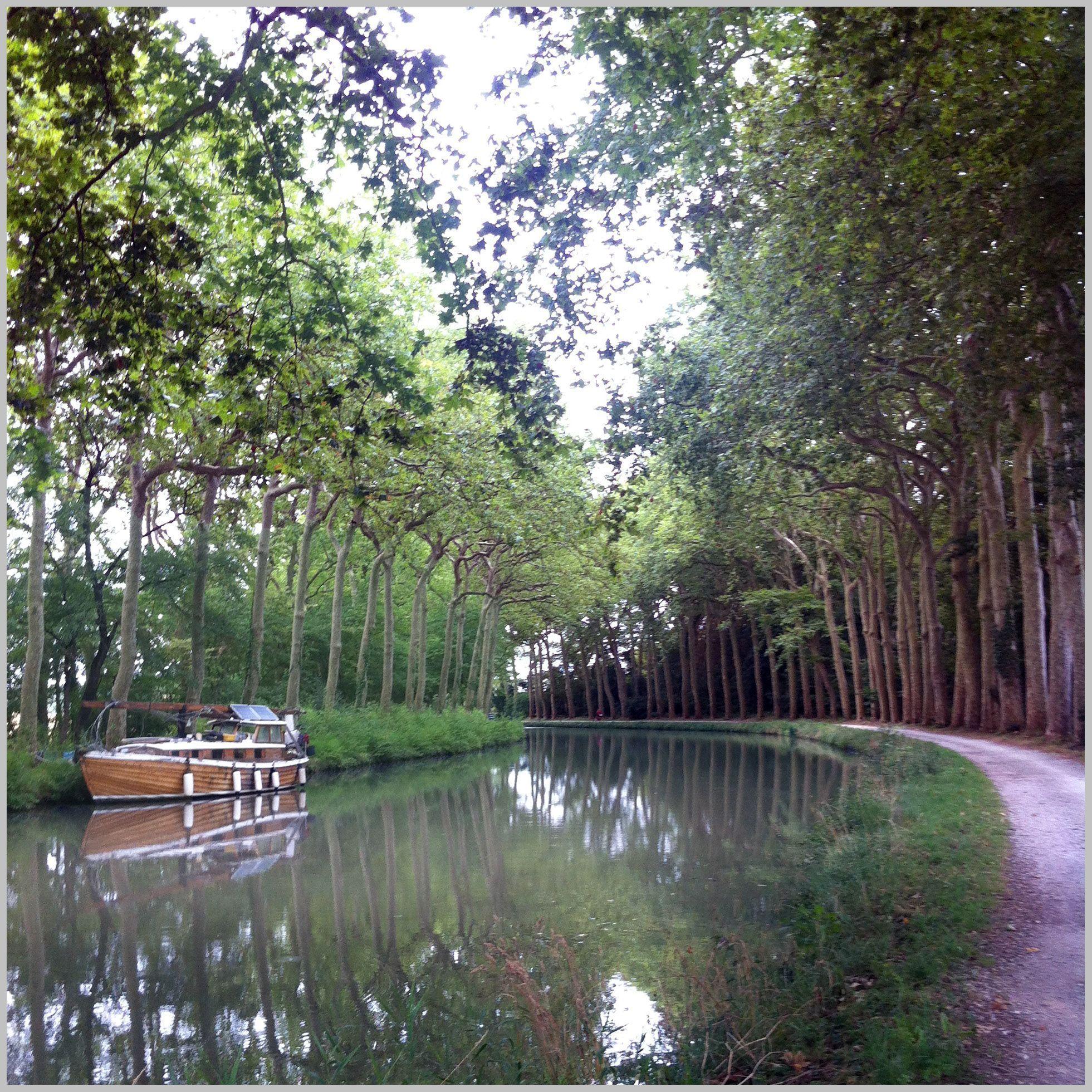 Canal du Midi con barco