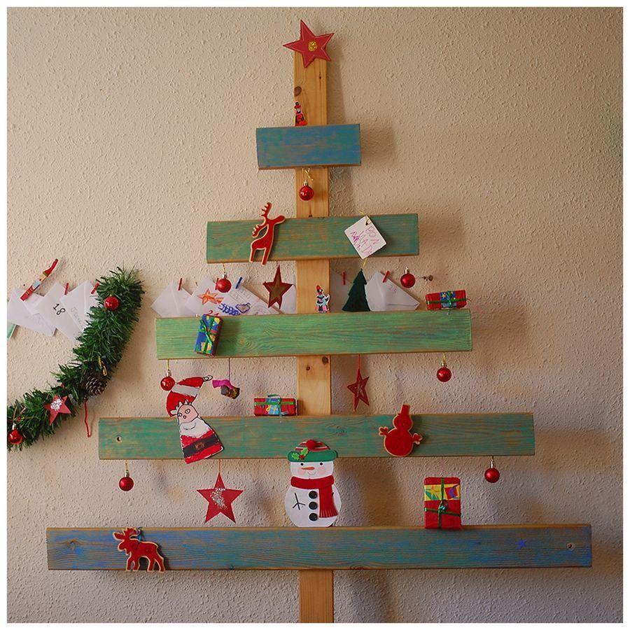 el rbol de navidad artificial natural o reciclado - Arbol De Navidad De Madera