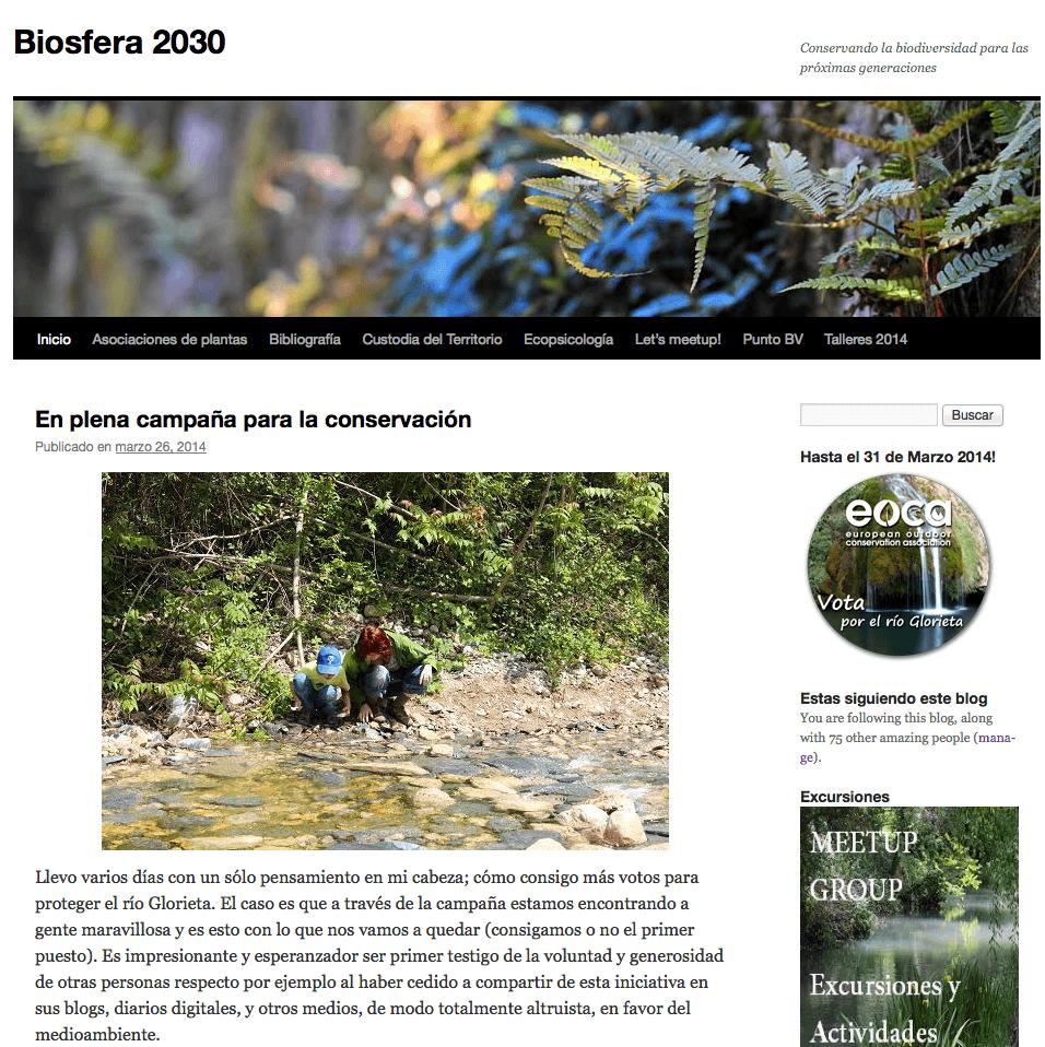 Biosfera 2030 por Michaela Devi