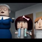 Captura del corto animado sobre reciclaje Basuria