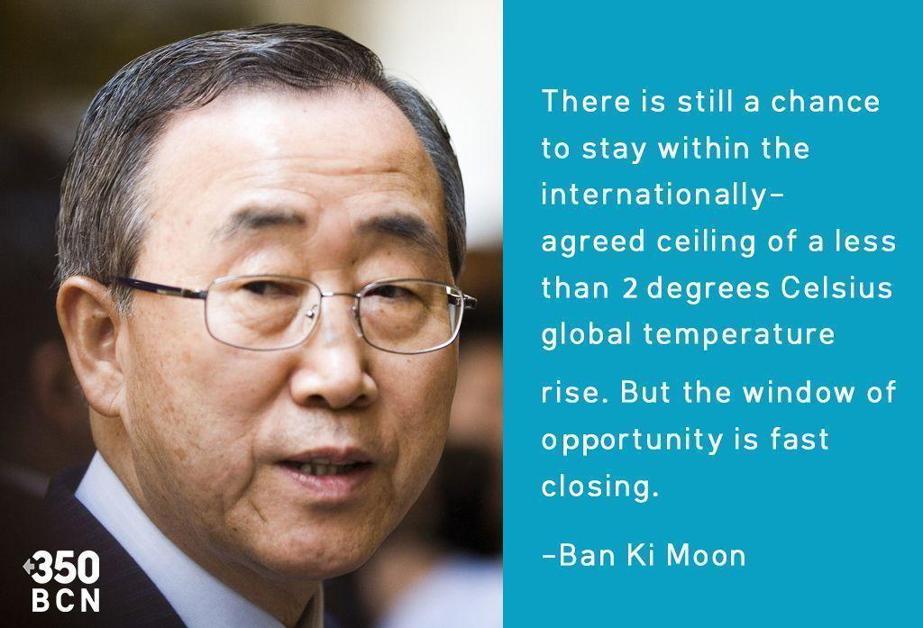 Ban Ki Moon en COP 20
