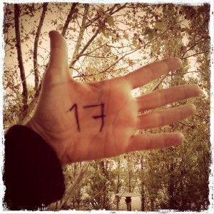 Mis manos con #Cofrentes17