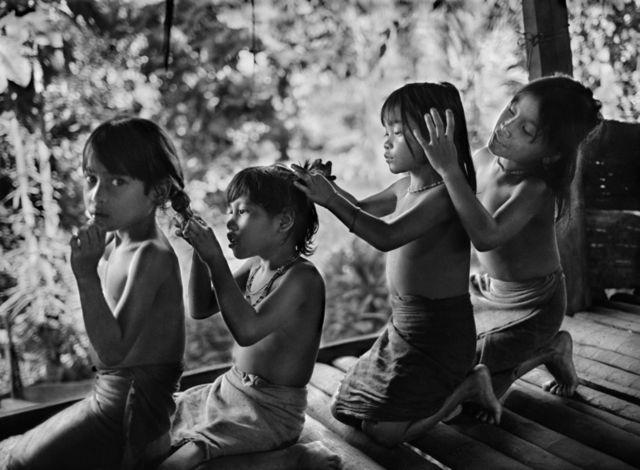 Mentawai por Sebastião Salgado