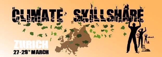 Zurich climate skillshare organizado por Greenpeace International