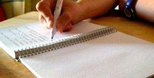 Escribiendo en barcelona paper