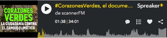 Grabación 350 BCN en Scanner FM