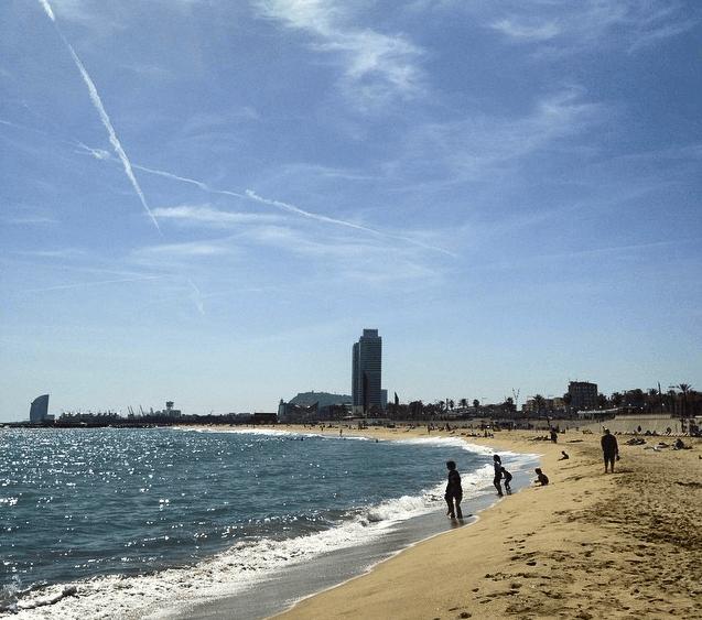 ¡También sueño con ver las playas de Barcelona así de tranquilias y limpias en verano!