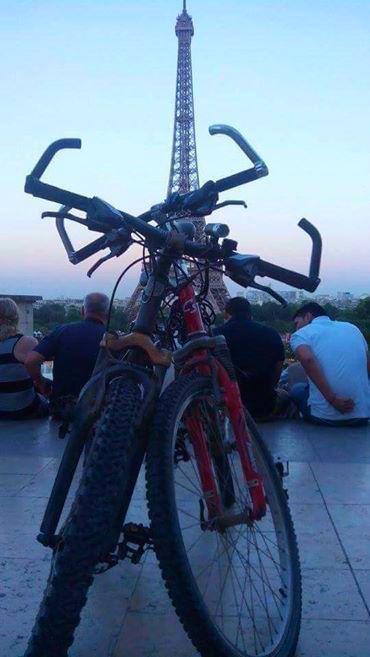 Marcha a COP21 París en bici