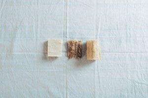 esponjas naturales para enviar las sintéticas.