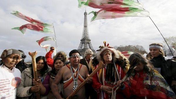 Derechos indígenas en la COP21