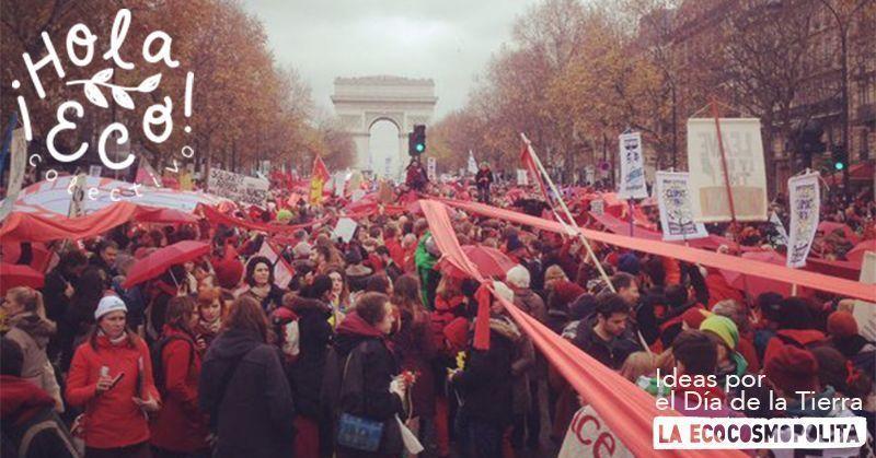 Líneas ROjas en París. COP21