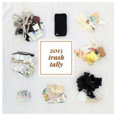 La basura de una zero waste blogger-residuo cero