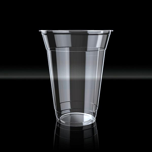 Vaso desechable de bioplastico