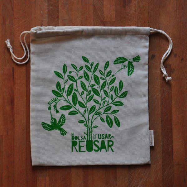 Bolsa ecológica multiusos. Ideal para comprar a granel