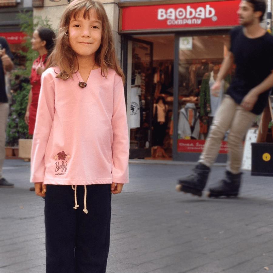 Baobab Company Moda para niños de algodón ecológico y
