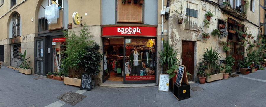 Baobab Company, moda sostenible y de comercio justo en el Born, Barcelona