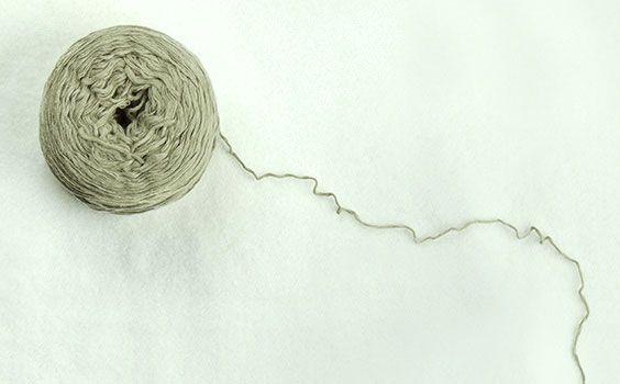 Algodón ecológico de Organic Cotton Colours, hilado en Europa