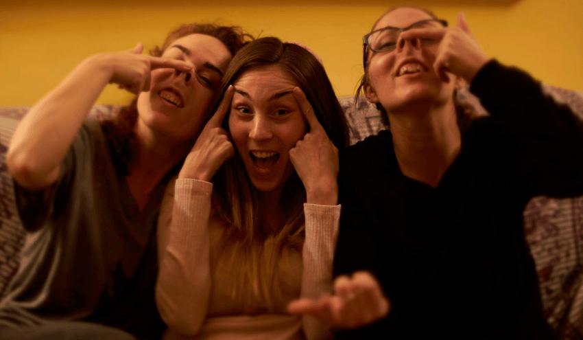 Lourdes, Laia y Laura de Nanit