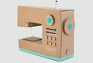 Maquina de coser para niños DIY