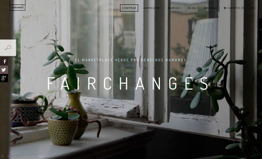 Cristina Palacios, fundadora de Fairchanges, marketplace sostenible y de comercio justo