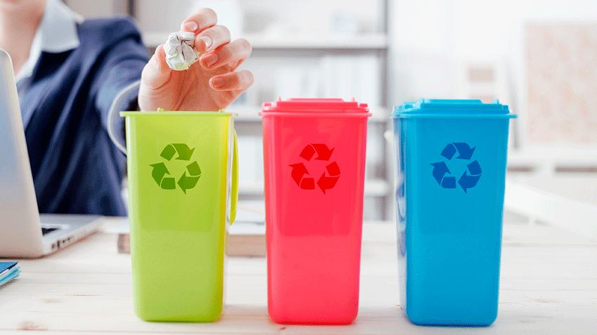 Reciclaje, indispensable en una empresa sostenible