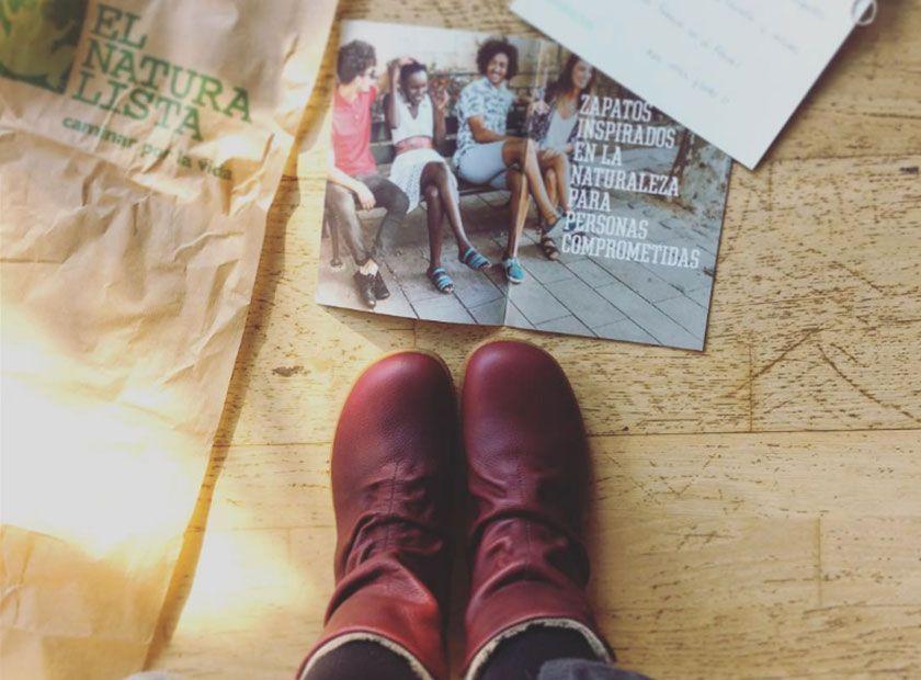 Botas de El Naturalista. Calzado sostenible hecho en España