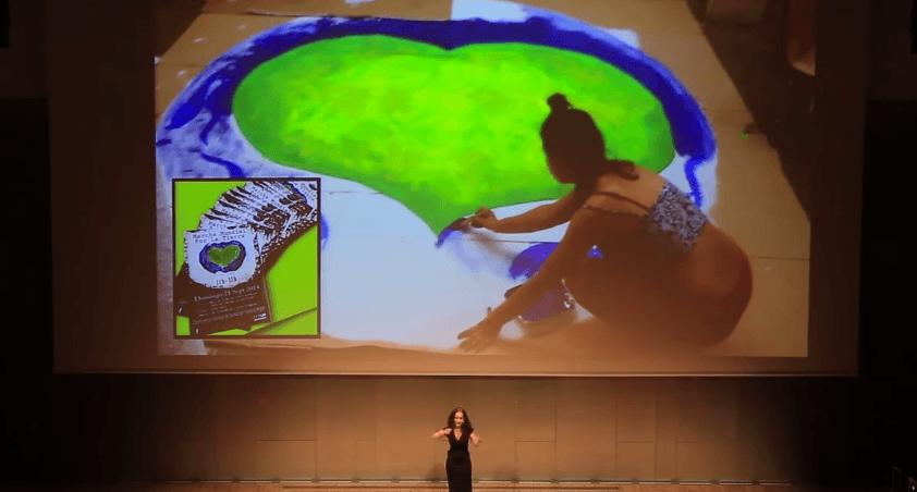 charla sobre cambio climático. Yve Ramirez, Pecha kucha, Museu del Disseny BCN 2016