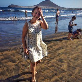 ¡Con mi vestido de Tiralahilacha!