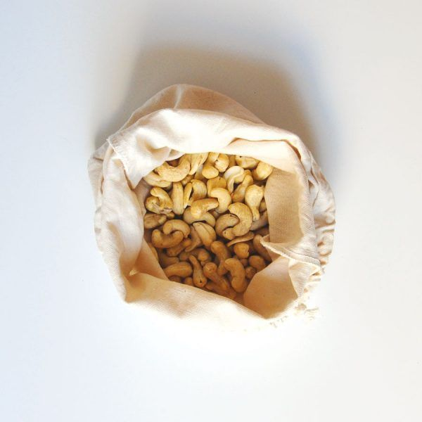 Bolsa para preparar leches vegetales y para germinar semillas y