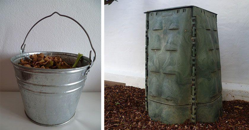 Compost casero de Esther Peñarrubia. VIda residuo cero en casa