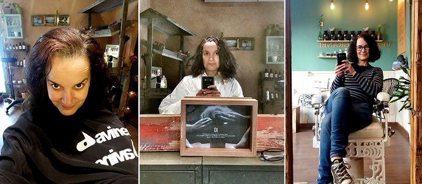 Alone peluquería ecológica en Barcelona. Mi transición hacia las canas.