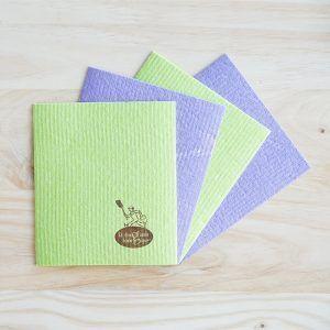 bayetas compostables de algodon y celulosa, sin plástico
