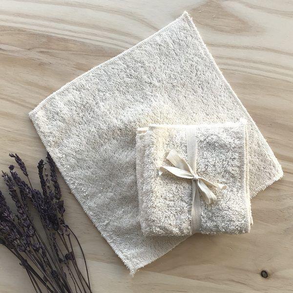 toallitas reutilizables de algodón orgánico