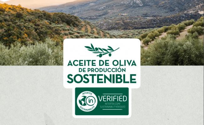Aceite de oliva de producción sostenible