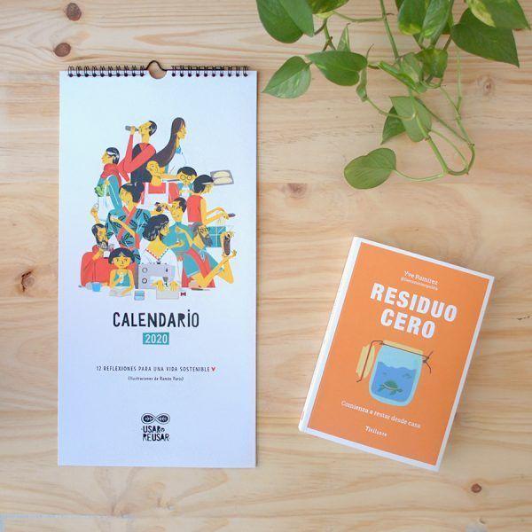 Kit inspira libro residuo cero y calendario