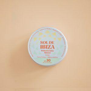 protector solar sin plástico, residuo cero y mineral Sol de Ibiza