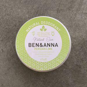 Desodorante persian lime Ben&Anna en lata