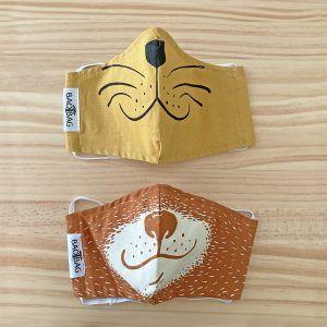 mascarillas-reutilizables-para-niños-animales
