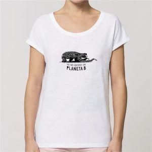 camiseta de algodón ecológico Rounder Perezoso