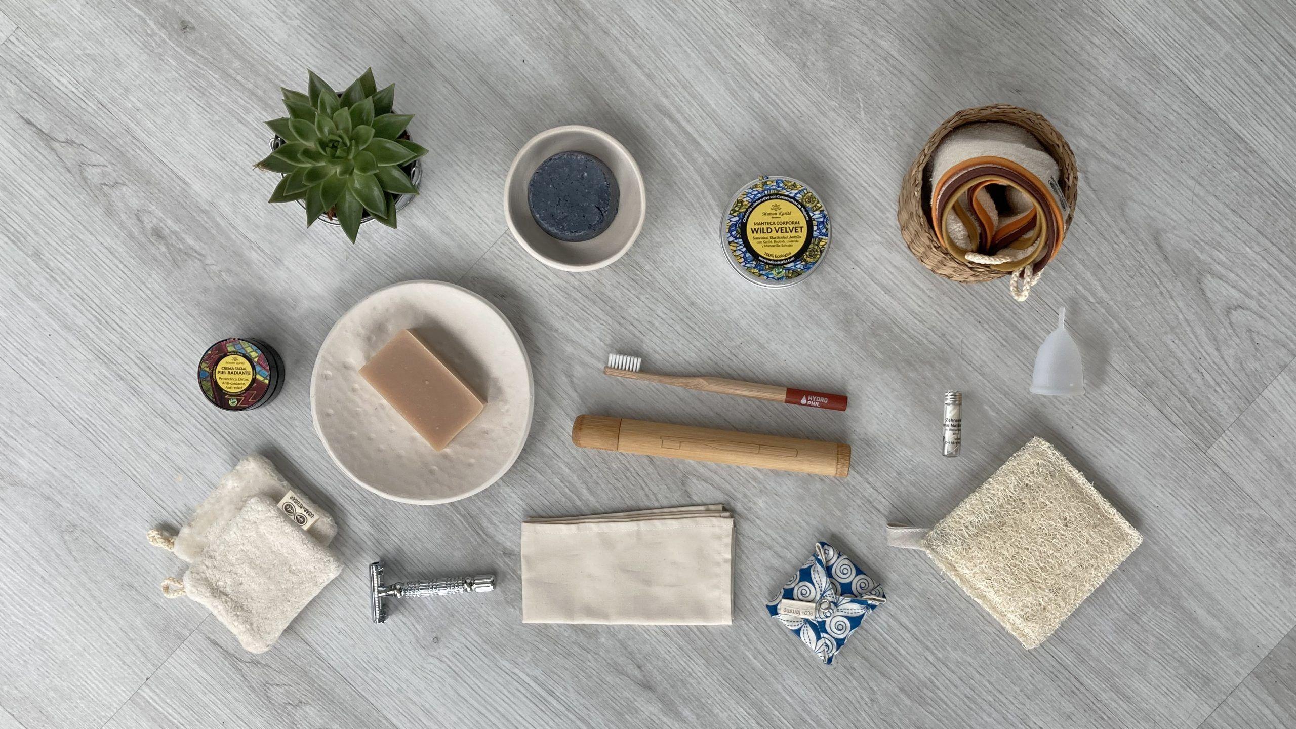 baño sin plástico y zero waste