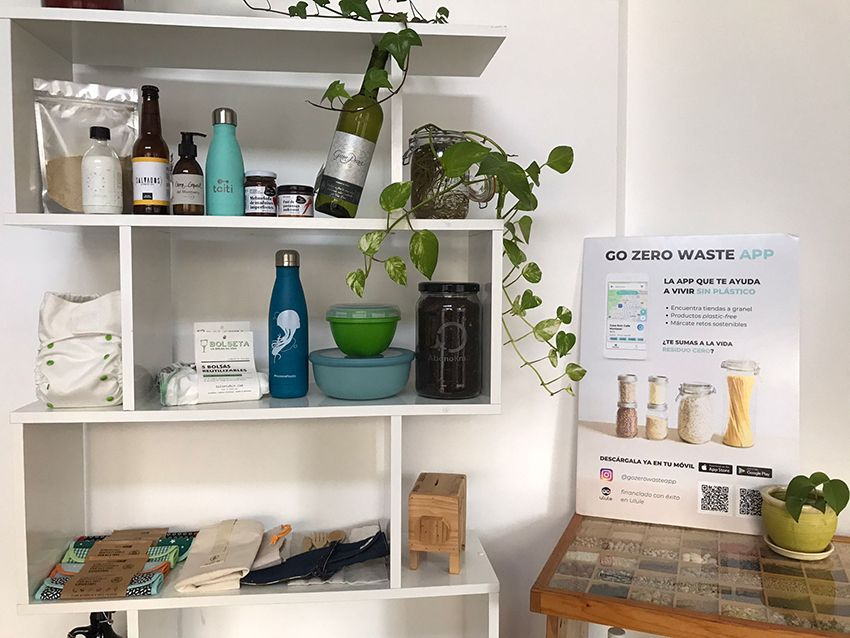 Go zero waste app. La app para reducir residuos