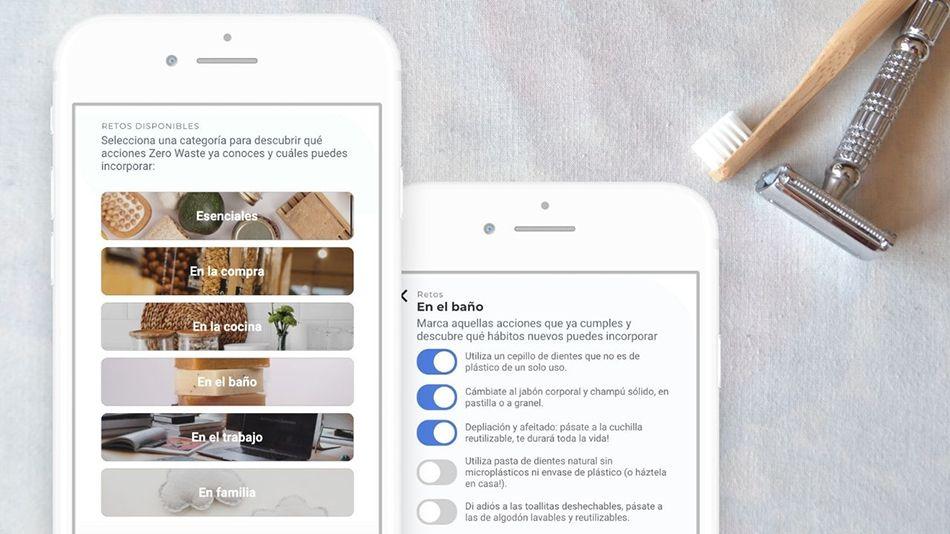 Go Zero Waste App. La app que te ayuda a reducir residuos