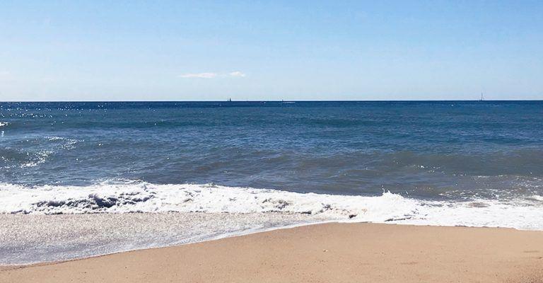 Playa. El Masnou, Barcelona