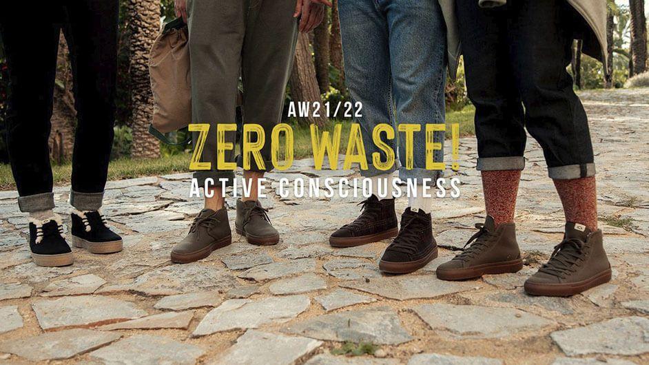 Zapatos veganos y zero waste Vesica Piscis